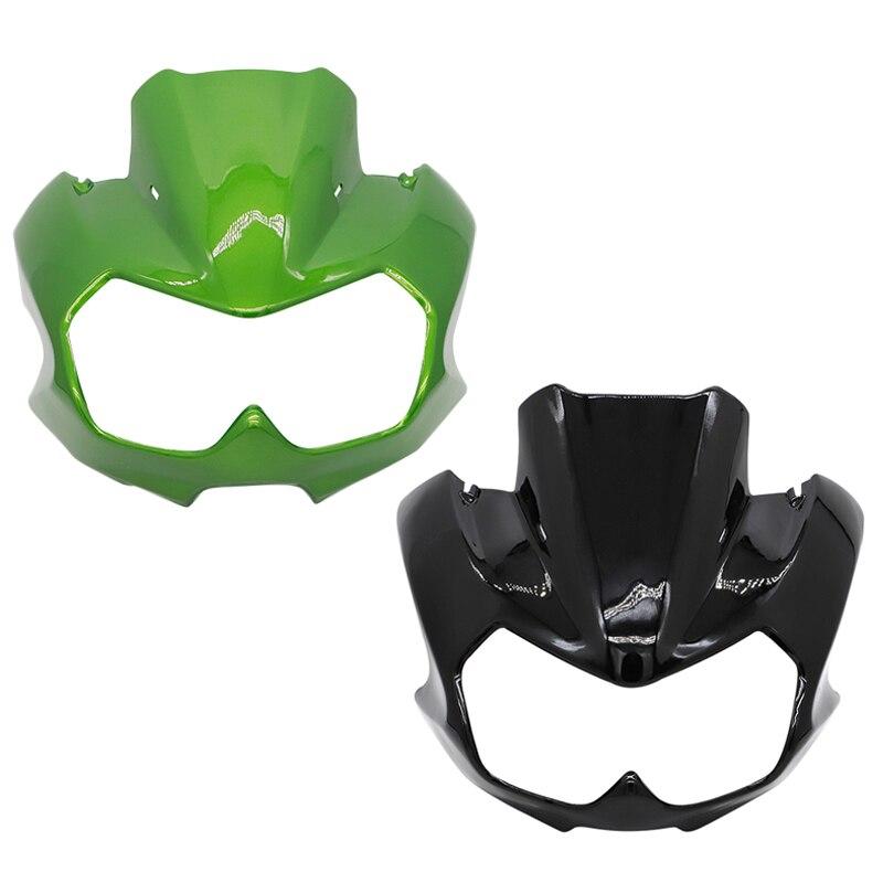 غطاء المصباح الأمامي للدراجة النارية ، انسيابية واقية للرأس والرقبة العلوية ، لـ Kawasaki Z750 Z 750 2004 2005 2006