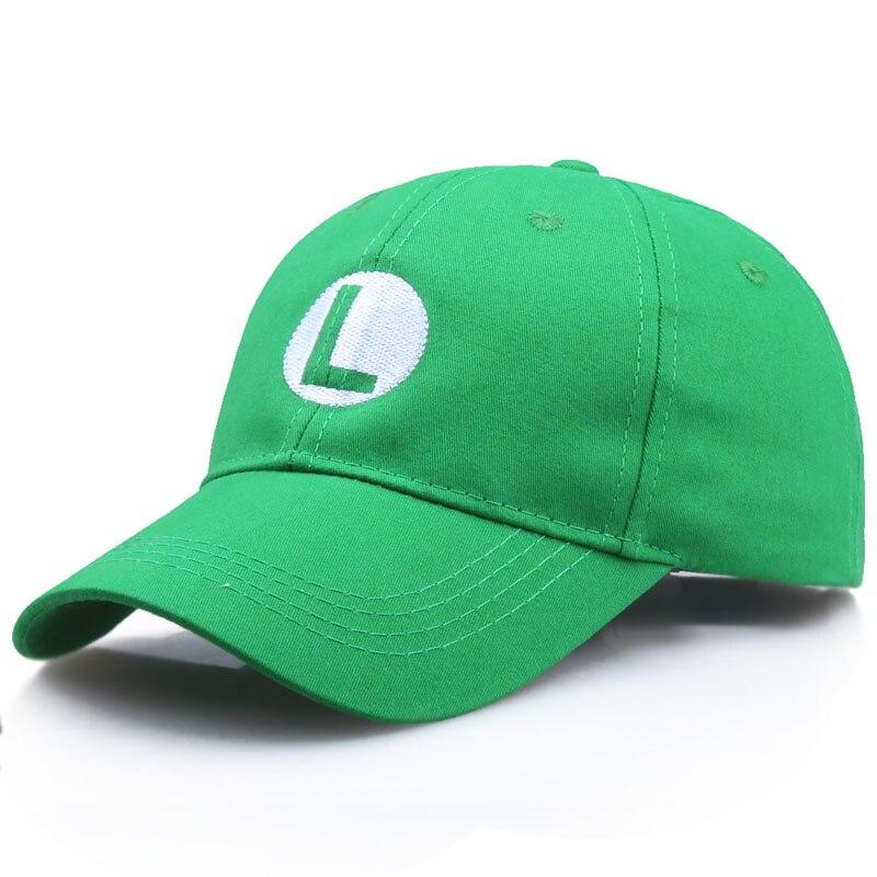 Wholesale Super Mario Caps Odyssey Luigi Bros Hat Anime Baseball Cap Cosplay Accessories Christmas G
