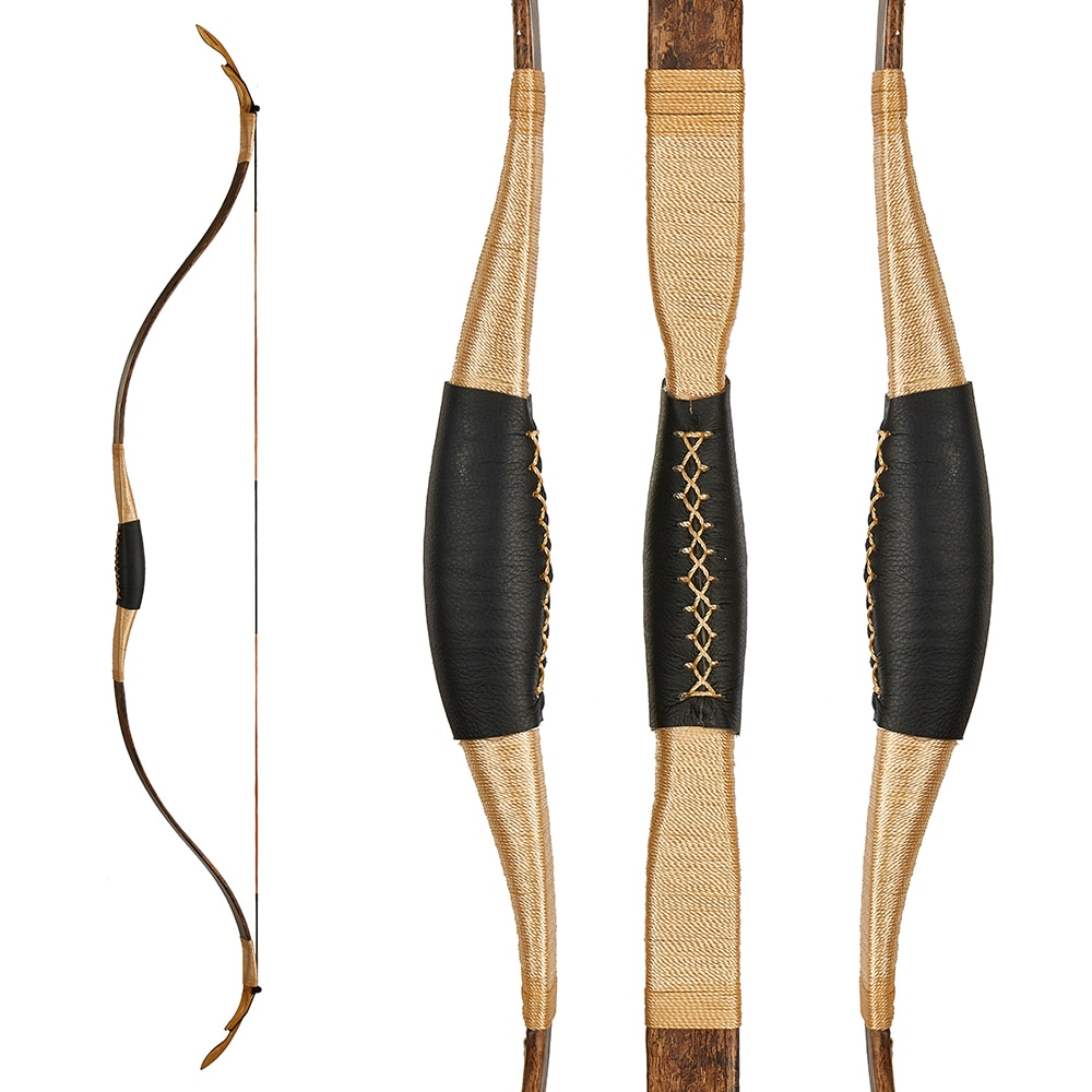 2020 New design toparchery traditional bow import wooden bow for hunting practice 25lbs/30lbs/35lbs/40lbs for choose