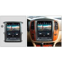 Chogath-lecteur multimédia de voiture   Écran Tesla, Android 7.1, unité pour Toyota land cruiser lc100, pour LEXUS LX470 2003-2007 Radio stéréo