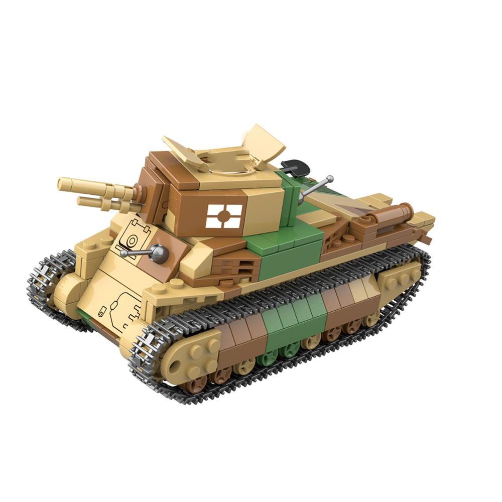 2021 guerra mundial 2 ww2 exército militar soldado cidade polícia swat tipo 89 tanque médio blocos de construção tijolos crianças brinquedos