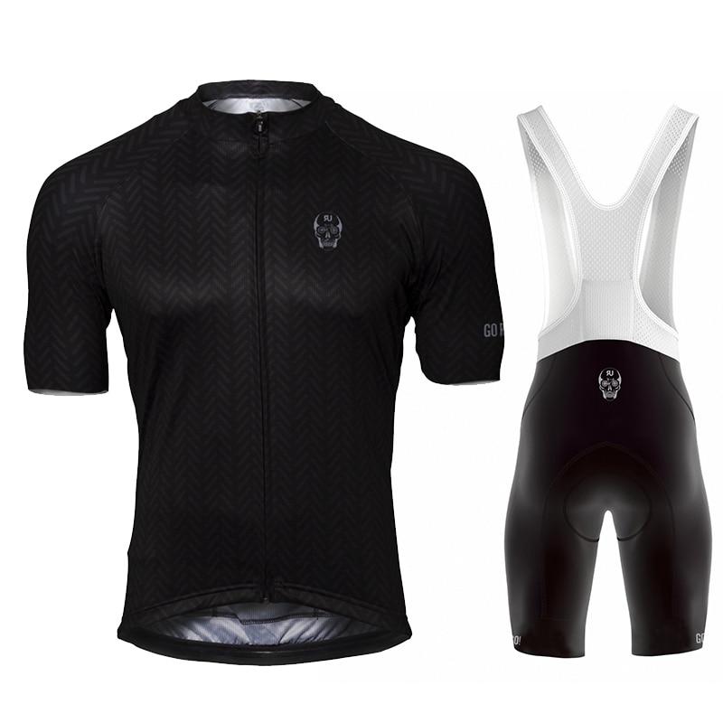 2021 Raphaful Cycling Jersey Bicycle Short Sleeve Ralvpha Men Bike Bib Shorts Clothes Maillot Cycling Sets Ropa Ciclismo