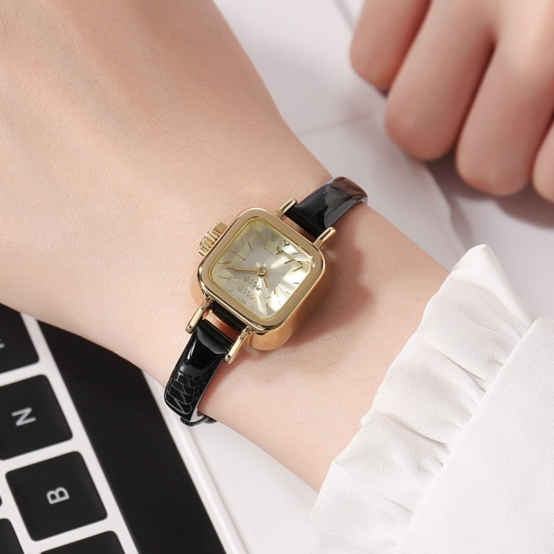 Big Sale New Girl Small Style New Fashion Casual Watch Women Quartz Wristwatch Lady Waterproof Clock Student Young Woman Gift enlarge