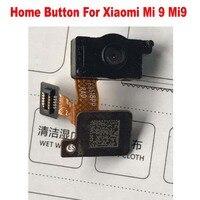 100% Tested Working Home Button Fingerprint Touch Id Sensor Return Key Menu Connector Flex Cable For Xiaomi 9 Mi 9 Mi9