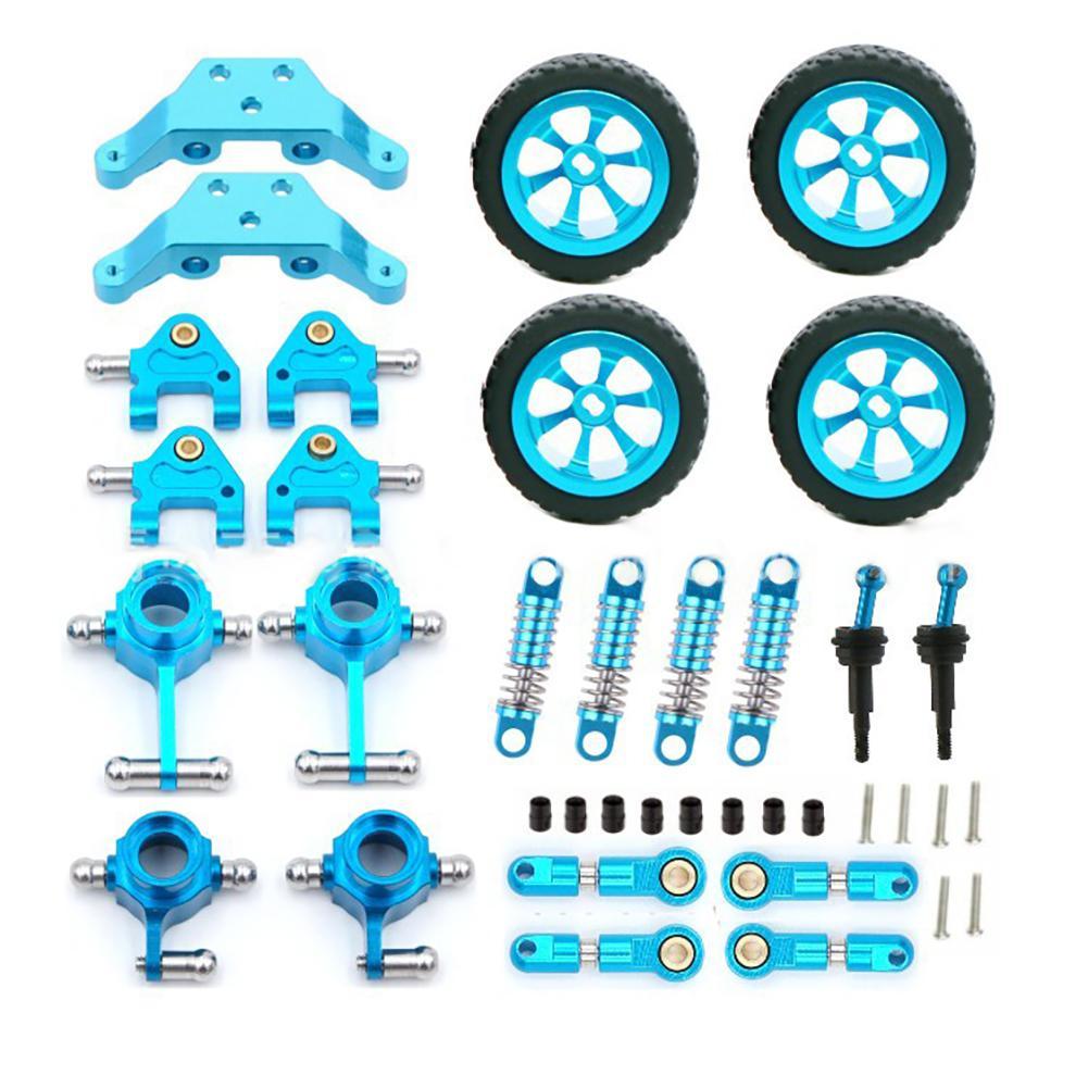 None Wltoys 1:28 RC Car Wheel Metal Swing Arm Hem Arm K969 K989 Car Parts