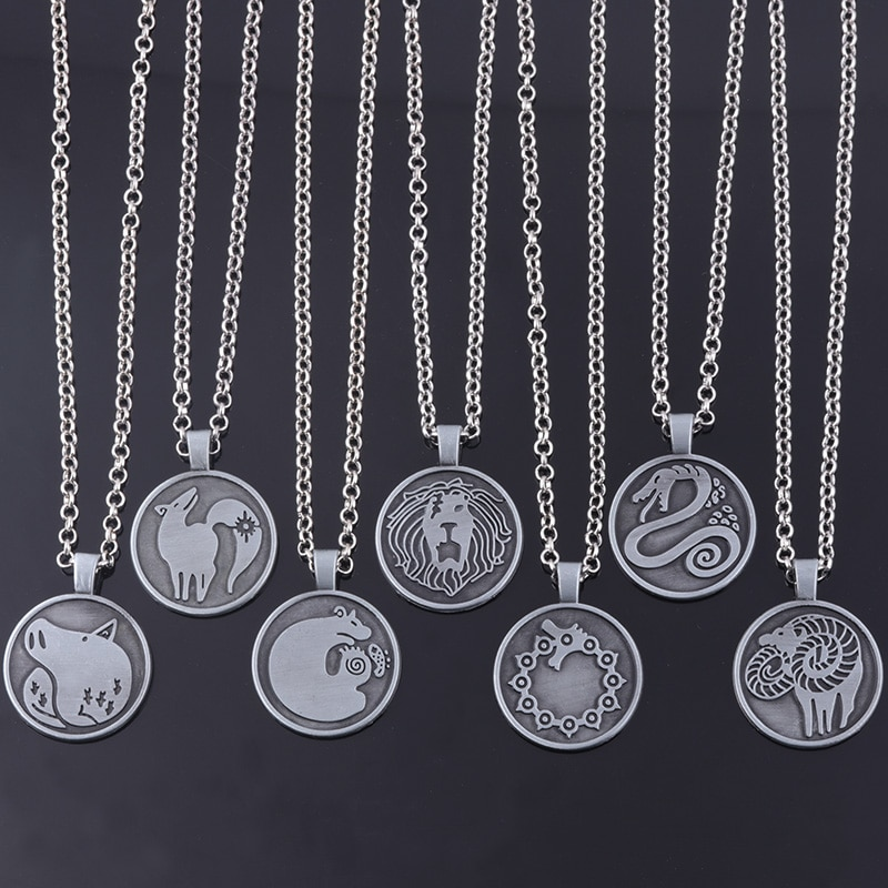 AliExpress - The Seven Deadly Sins Necklace Nanatsu no Taizai Meliodas Diane Escanor Merlin Ban King Gowther Tattoos Pendant Necklace Jewelry