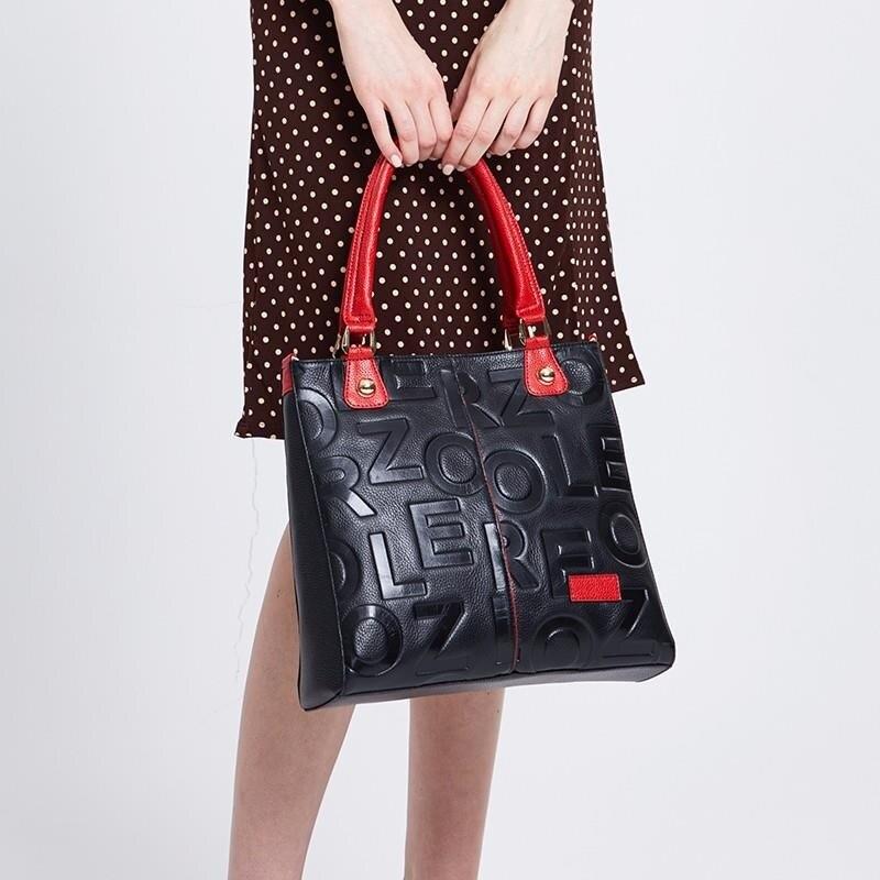 Женские сумки ZOOLER, Дизайнерские Сумочки из натуральной кожи, сумочки и сумочки из коровьей кожи, 2020