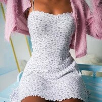 sexy lace print stitching v neck slim dress summer new casual simple strap dresses female ropa mujer en