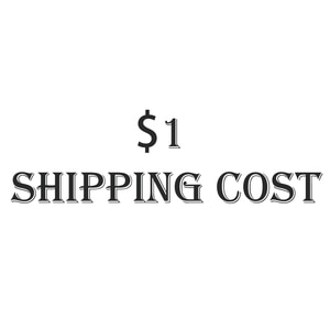 1$ Shipping Price, Please Contact The Seller Before Placing An Order