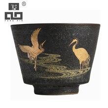 TANGPIN tasse en céramique grue volante   Tasse en porcelaine, tasse kung fu chinoise, tasse boissons 50ml