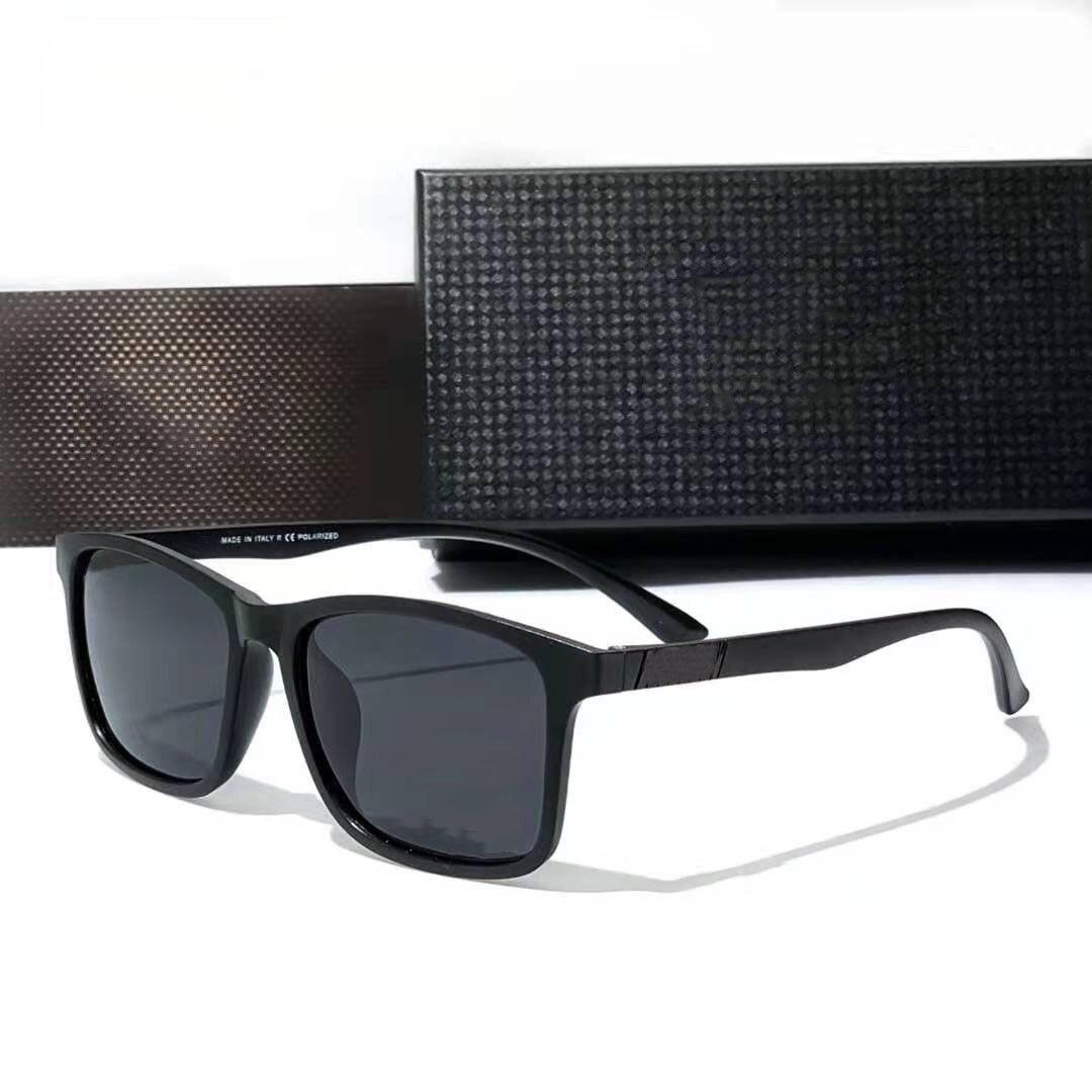 Очки солнцезащитные мужские квадратные, классические поляризационные Модные цветные солнечные очки TR90 в стиле ретро, уличные спортивные о...
