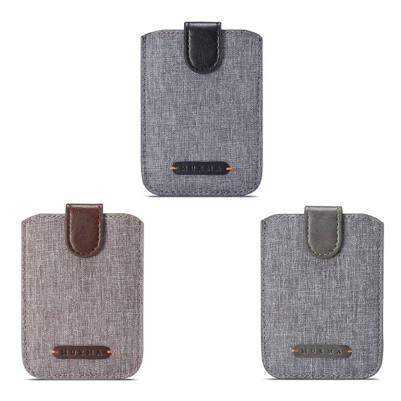 RFID Universal que bloquea 5 portatarjetas, funda billetera móvil, adhesivo