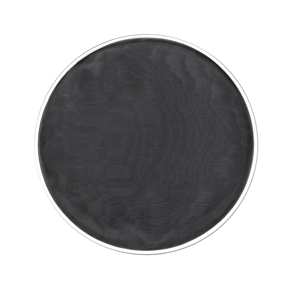 10 pulgadas DT-39 tambor negro silencioso piel Nylon malla acero tambor cabeza Silent Drumhead percusión instrumento 27*27*2cm