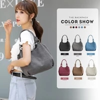 2020 autumn and winter models canvas bag womens shoulder large capacity beach bag canvas shoulder bag cosmetic bag outdoor wome