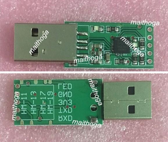 CP2102 USB A Adaptador TTL para HM-11 HM-13 HM-17 HM-19 HM-10 HM-12 HM-16 HM-18 circuitos integrados