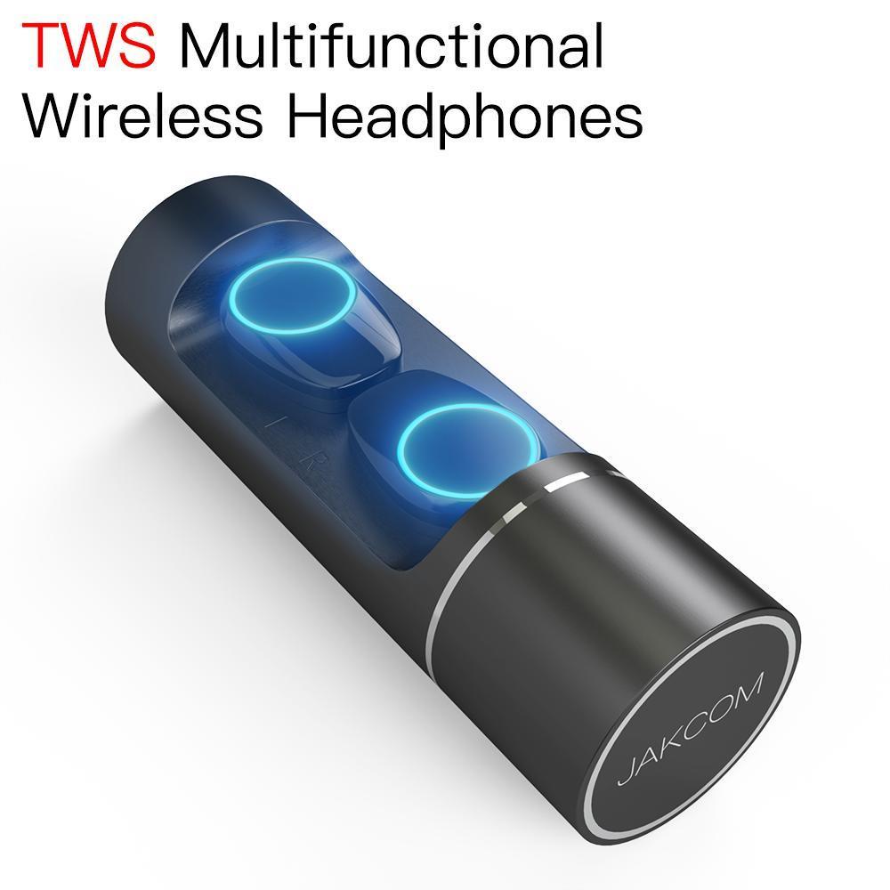 JAKCOM TWS Super auricular inalámbrico, bonito que el ordenador, artilugios para jugadores, estuche iqcos home trainer zwift 2