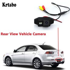 Krtabo HD Car Parking Camera For Mitsubishi Galant Fortis (Japan) 2007~2015 Rear View Camera Waterproof Reverse Backup Camera