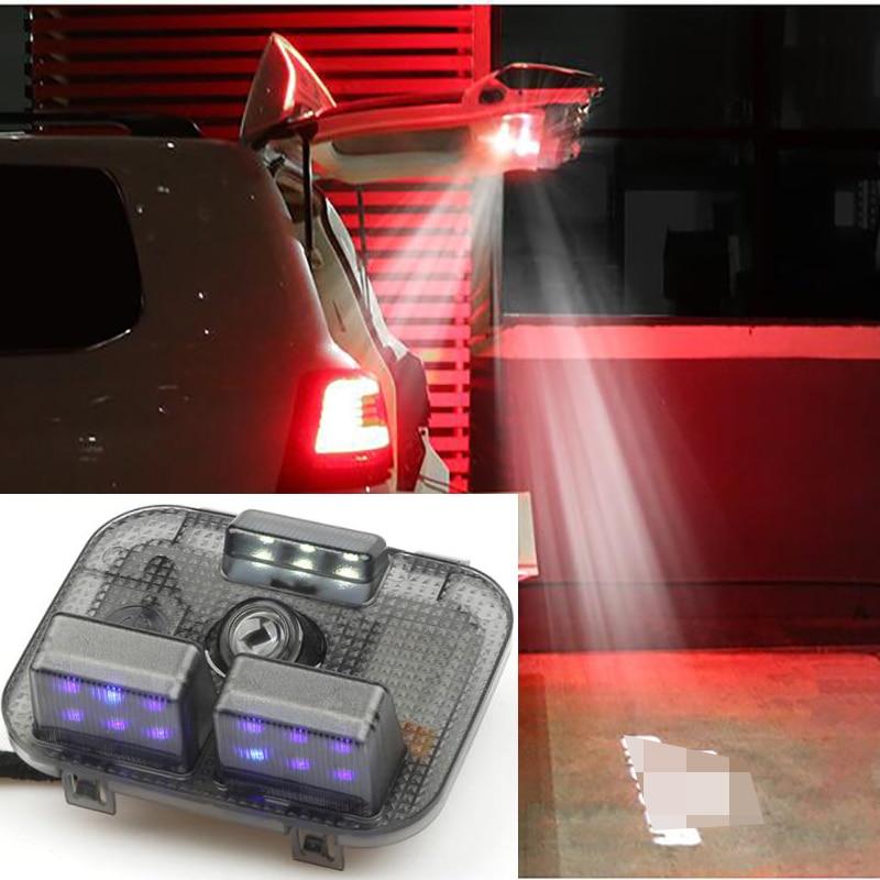 Led تحذير ضوء جذع مصباح خلفي غطاء ضوء الداخلية المحيطة كشاف لسيارة تويوتا لاند كروزر 200 LC200 FJ200 2008-2020 اكسسوارات