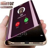 Роскошный зеркальный чехол для Apple iPhone 11 12 Pro Max 8 7 6 6s Plus Xr Xs Max X Xs SE 2020, защитный флип-чехол