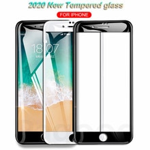 9D Curved Edge Tempered Glass On For iPhone 7 8 6 6S Plus SE Glass Screen Protector on iphone8 iphon