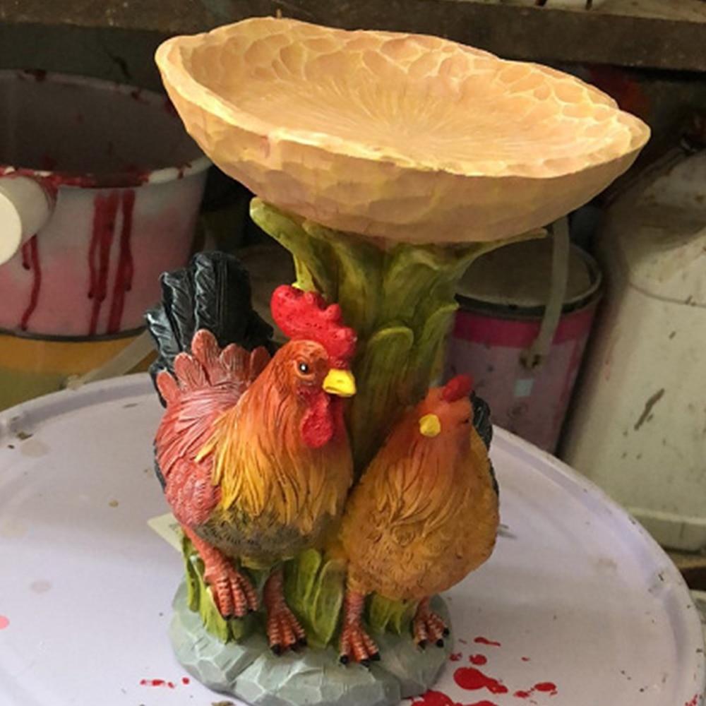 صورة الحيوان الرعوية الحديثة الديكور الحرفية الراتنج حديقة ديكور الحرف الإبداعية الزفاف حديقة الحيوان الديكور الحلي