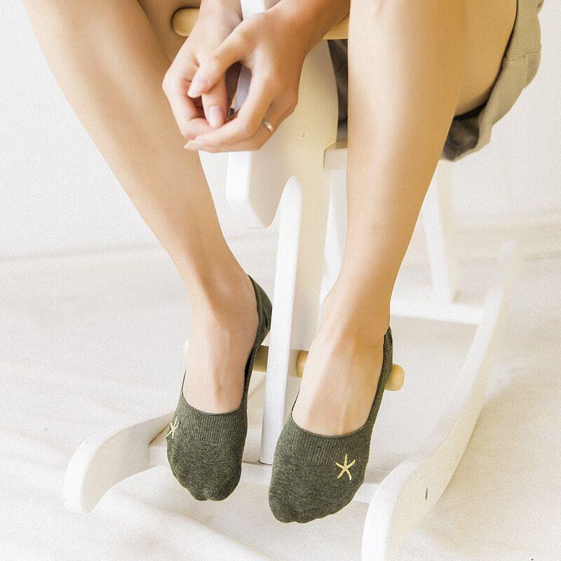 Socks slippers popsocket women socks cerw cool sock cute cats korean invisible cotton summer 2019 mesh silicone ring non-slip