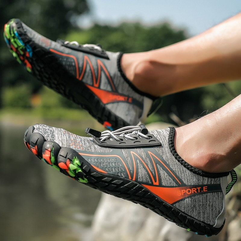 Men and women yoga shoes couple swimming shoes comfortable breathable hiking shoes riding shoes beach shoes fitness shoes