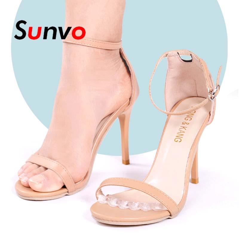 2Pcs Non-slip Insoles Sticker for High Heels Flip Flop Sandals Silicone Women Elegant Self-adhesive