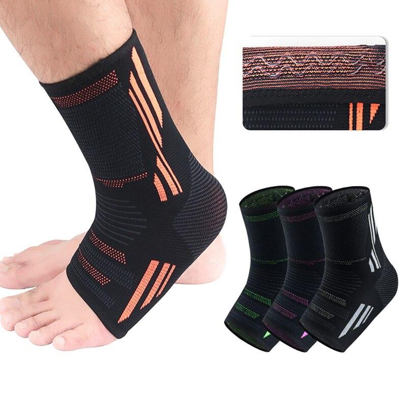 1 Uds tobillo Brace compresión soporte manga elástica transpirable para recuperación de lesiones articulaciones Dolor en el pie calcetines deportivos