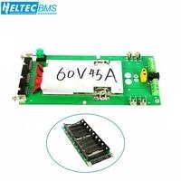 power wall 18650 battery holder 62v72v battery box balancer pcm 17s 45a bms diy kit 18650 battery pack for ebike electric car