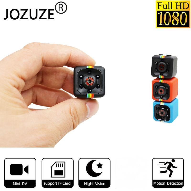JOZUZE sq11 Mini Camera HD 1080P Night Vision Camcorder Motion Detection DVR Micro Camera Sport DV Video Ultra Small Cam SQ11