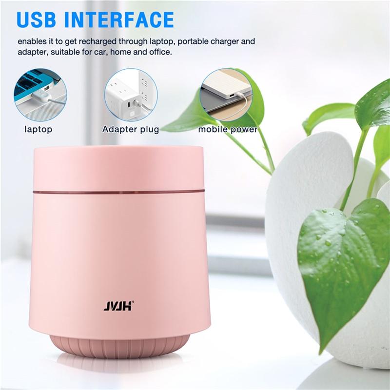 JVJH Зарядное устройство USB с Анион Воздухоочистители низкая Шум освежитель воздуха, ионизатор-воздухоочиститель пыли дыма перевозчика бакт...