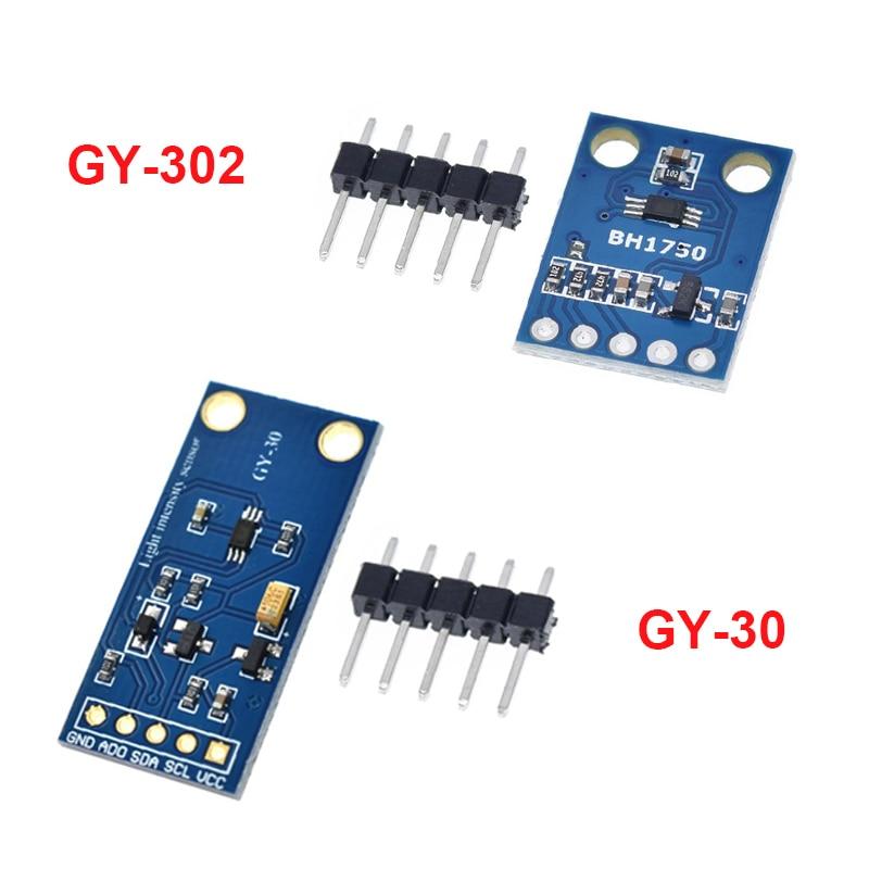 GY-302 GY-30 BH1750 BH1750FVI Цифровой оптический интенсивность датчик освещенности BH1750FVI модуль для arduino 3 V-5 V
