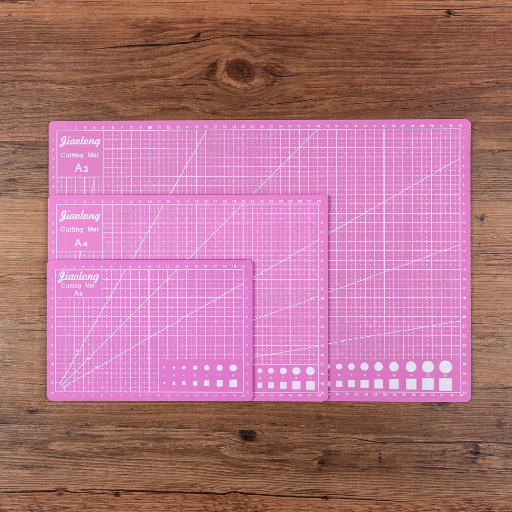 taglio-zerbino-a3-a4-a5-pvc-patchwork-cut-pad-a3-strumenti-patchwork-fai-da-te-manuale-strumento-di-bordo-di-taglio-a-doppia-faccia-auto-guarigione-di-colore-rosa