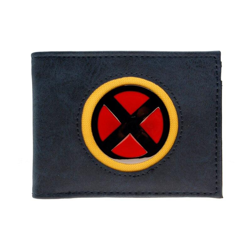 Cartera de hombre de alta calidad a la moda X-MEN nuevo monedero dft2027