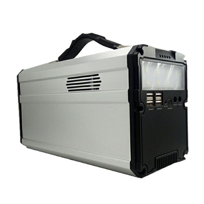 Portable Multi-functional Inverter Solar Generator Power Station Energy Power Supply Home Outdoor enlarge