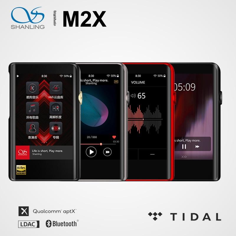 مشغل MP3 عالي الدقة AK4490 DAC USB DSD من شانلينغ M2X واي فاي مزود ببلوتوث هاي فاي PCM 32/384 شاشة تعمل باللمس نوع C