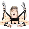Bdsm 속박 세트 유혹 수갑 & 목 베개 & 발목 커프 구속 성인 게임 섹스 토이 여성 커플 에로틱 액세서리