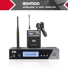 XTUGA IEM1100 entier méta monocanal UHF sans fil dans le système de moniteur doreille 40 fréquences sélectionnables parfait pour la scène