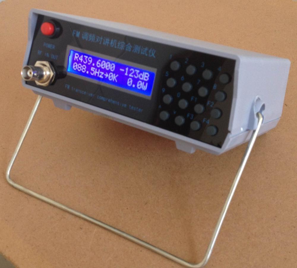 FM Интерком комплексный тестер RF генератор сигналов 1 МГц -- 470 МГц транкинговый тестер переговорный тестер