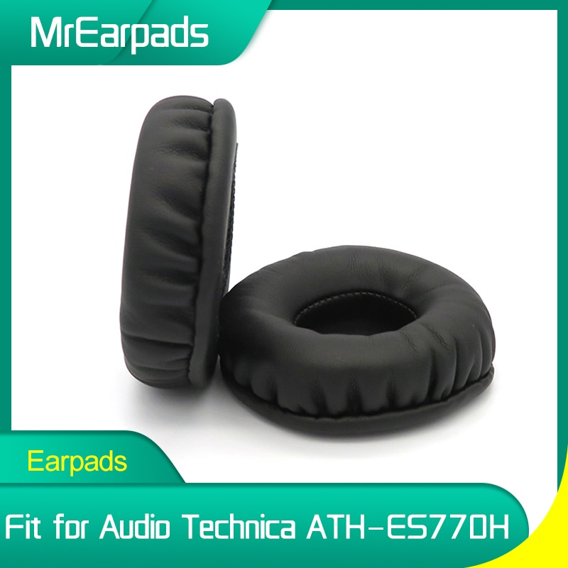 MrEarpads Earpads For Audio Technica ATH ES770H ATH-ES770H Headphone Headband Rpalcement Ear Pads Earcushions Parts ear covers ear pads for audio technica ath es770h ath es770h headphone replacement earpads