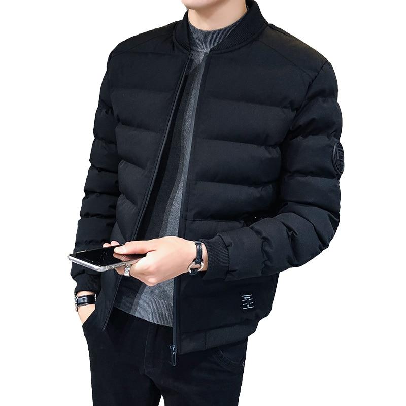 Мужская зимняя куртка, мужские пуховые куртки, парка, Мужская Высококачественная зимняя теплая верхняя одежда, брендовые облегающие мужски...