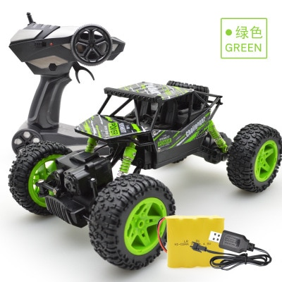 wltoys 2.4G remote control car off-road vehicle Bigfoot drift four-wheel drive climbing CHRISTMAS gift toy enlarge