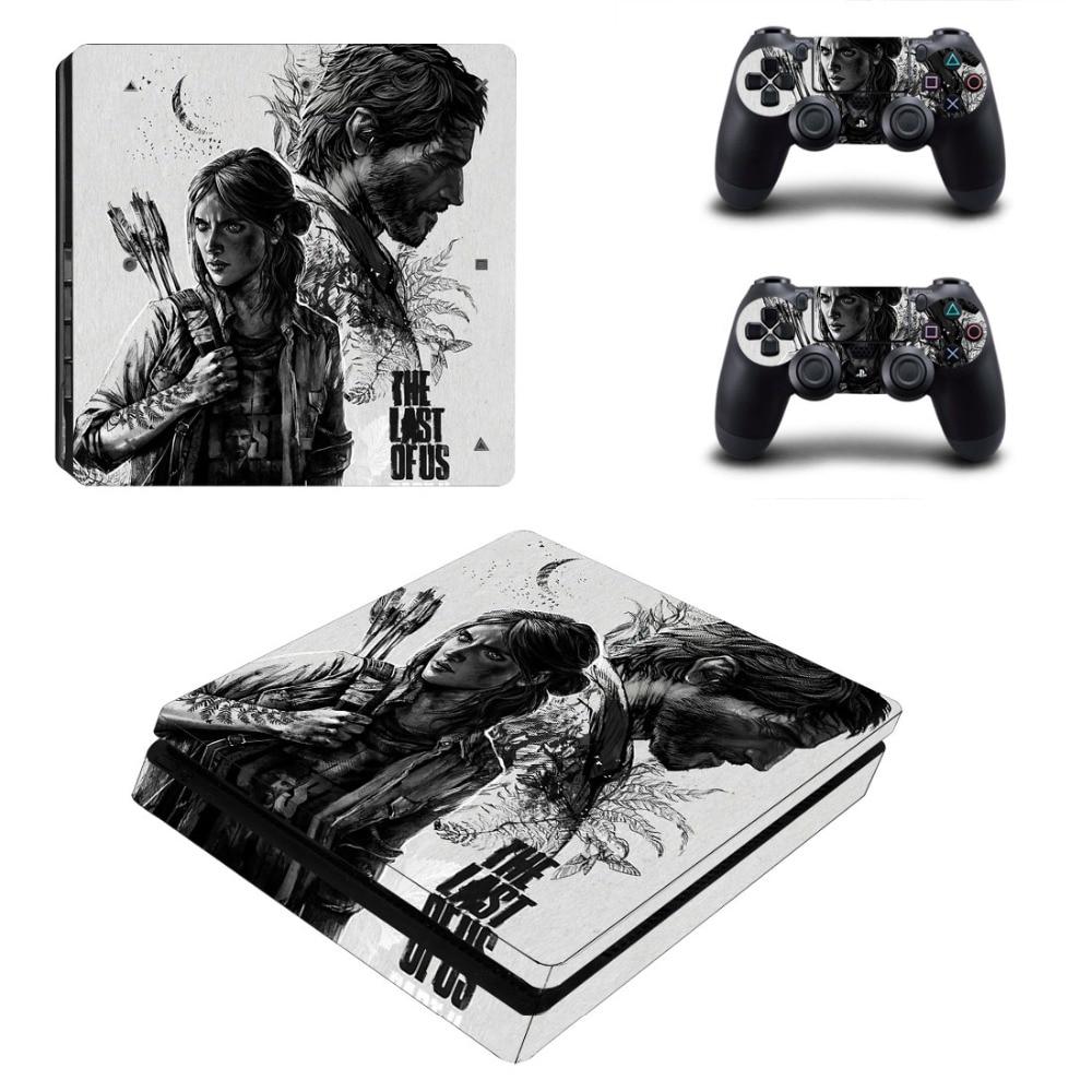 The Last of Us-ملصقات رقيقة لوحدة تحكم PS4 ووحدة تحكم من الفينيل