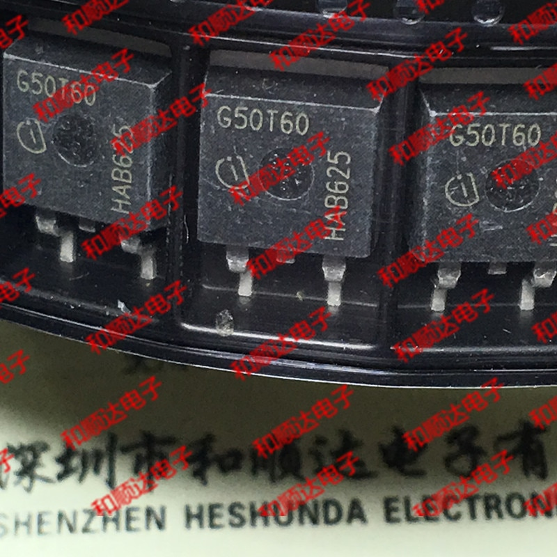 10 unids/lote G50T60 IGB50N60T nuevo stock-263 600V 50A