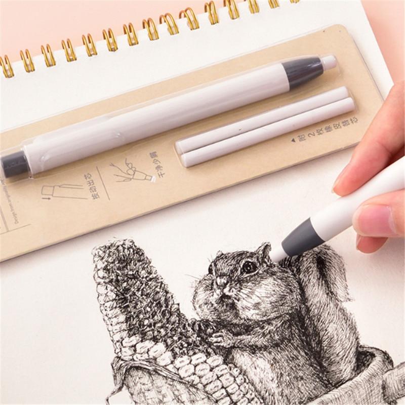 Deli ручка-образный прессованный резиновый глянцевый художественный эскиз специальный тип живописи беспыльный писательский ластик заправка покраски принадлежности