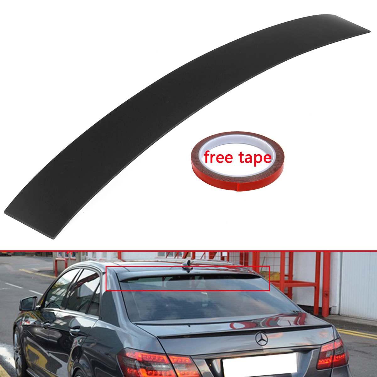 Alerón para maletero trasero de coche negro alerón para ventana labio ABS nuevo ajuste para Mercedes Benz Clase E W212 Sedán
