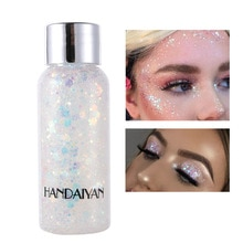 Eyeshadow Glitter Nail Hair Body Face Glitter Gel Art Flash Heart Loose Sequins Cream Decoration Par