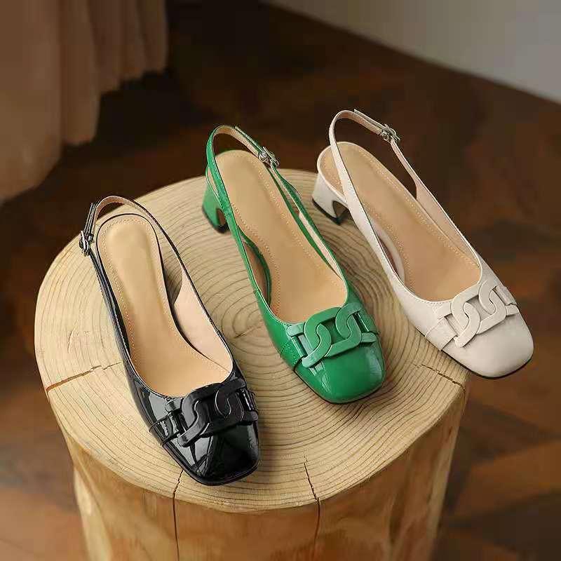 High-quality comfortable Baotou sandals lace-up womens shoes fashion Joker original logo custom 2021 summer new style