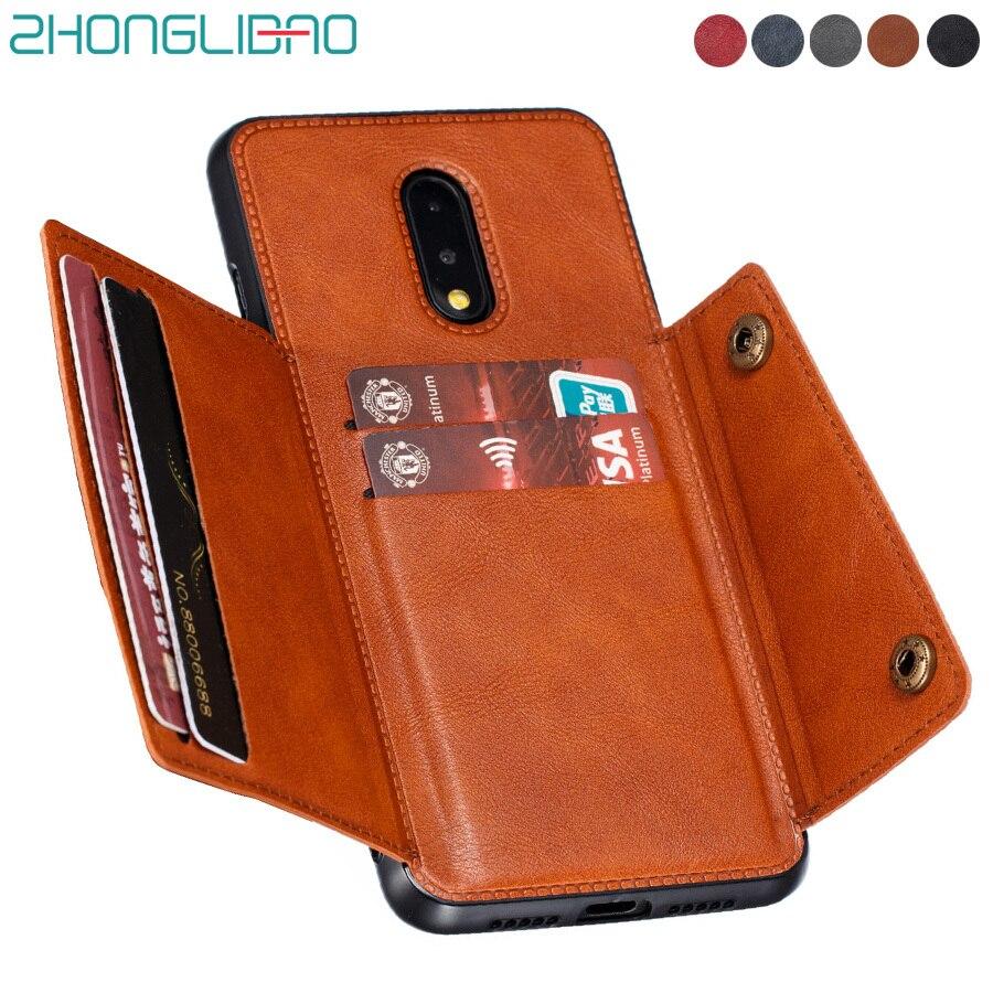 Чехол One Plus 7 8 7t Pro, чехол для телефона с отделением для карт, чехол для Oneplus 7t 7 T Pro Global, кожаная автомобильная магнитная подставка, силиконовая рамка